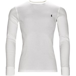 Waffel Crew Neck Long Sleeve Regular | Waffel Crew Neck Long Sleeve | Hvid